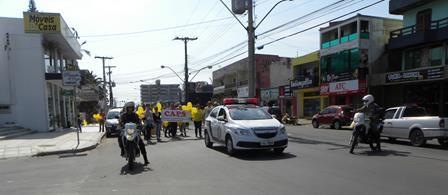 0a63d3e4642856 Campanha de Valorização à Vida reúne cem pessoas em Torres ...