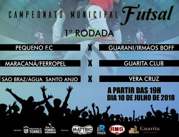 9c79079b29ea3 Campeonato Municipal de Futsal começa nesta terça-feira – Site ...