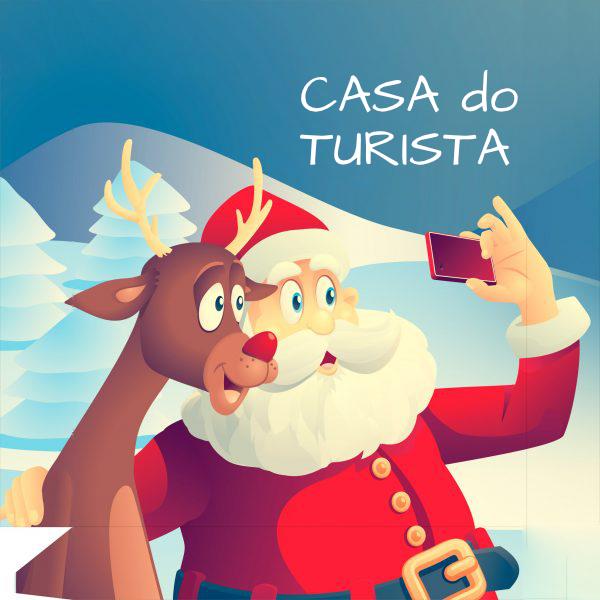 Selfie com o Papai Noel @ Casa do Turista