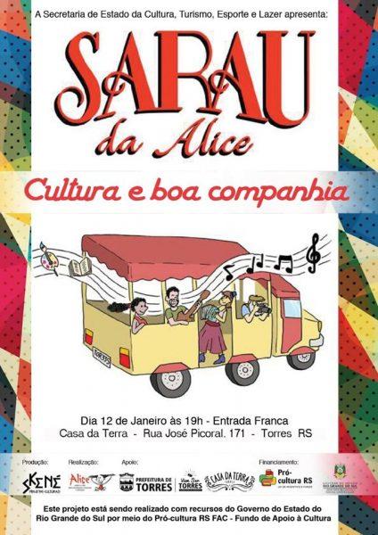 Sarau Alice @ Casa da Terra | Rio Grande do Sul | Brasil