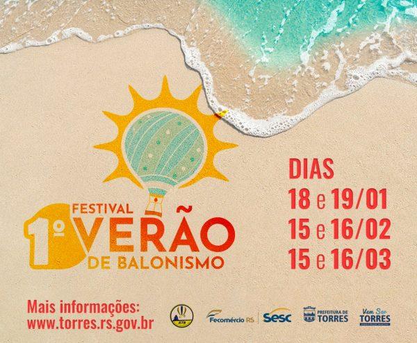 Festival Verão de Balonismo @ Praça Borges de Medeiros | Rio Grande do Sul | Brasil