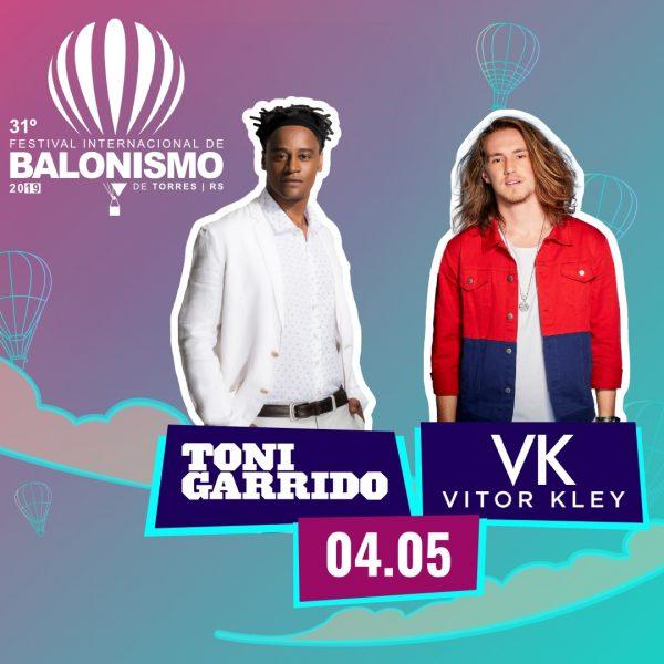 Show Toni Garrido e Vitor Kley @ Parque de Balonismo | Rio Grande do Sul | Brasil