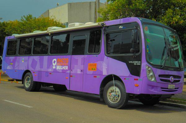 Ônibus Lilás @ ESF Vila São João   Vila São João   Rio Grande do Sul   Brasil