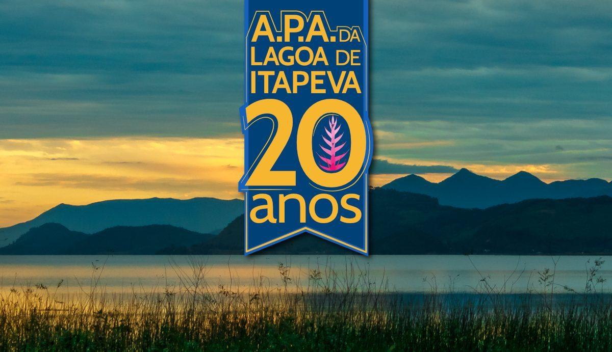 Selo de 20 anos da A.P.A Lagoa da Itapeva